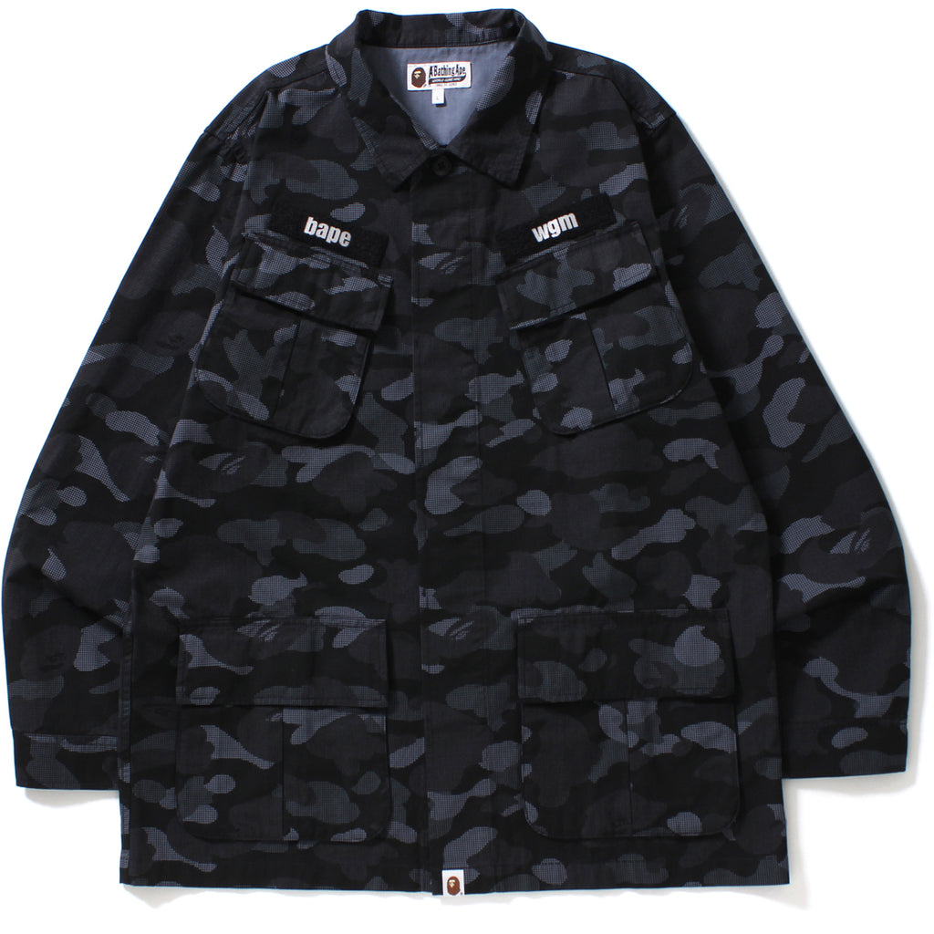 DOT CAMO WIDE UTILITY SHIRT MENS