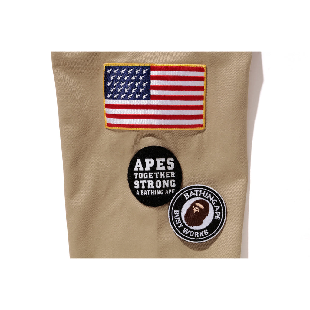 BAPE PATCH BOYSCOUT SHIRT MENS