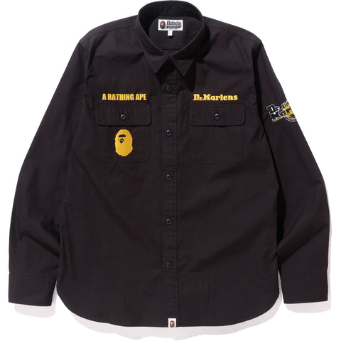 BAPE X DR.MARTENS WORK SHIRT MENS
