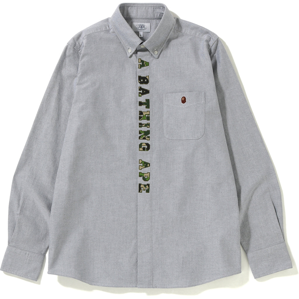 ABC APPLIQUE OXFORD BD SHIRT MENS