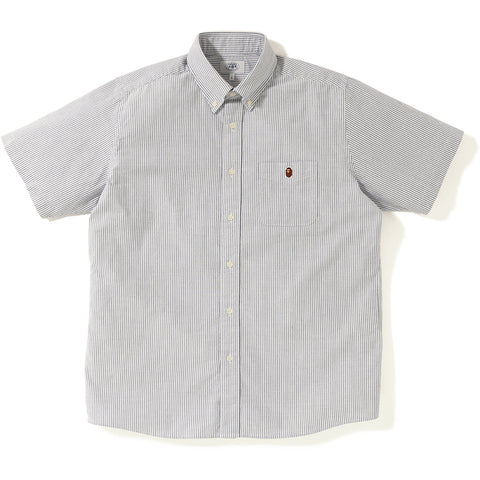 RELAXED STRIPE S/S SHIRT MENS