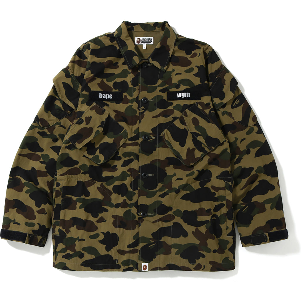 1ST CAMO TACTICAL MILITARY SHIRT MENS