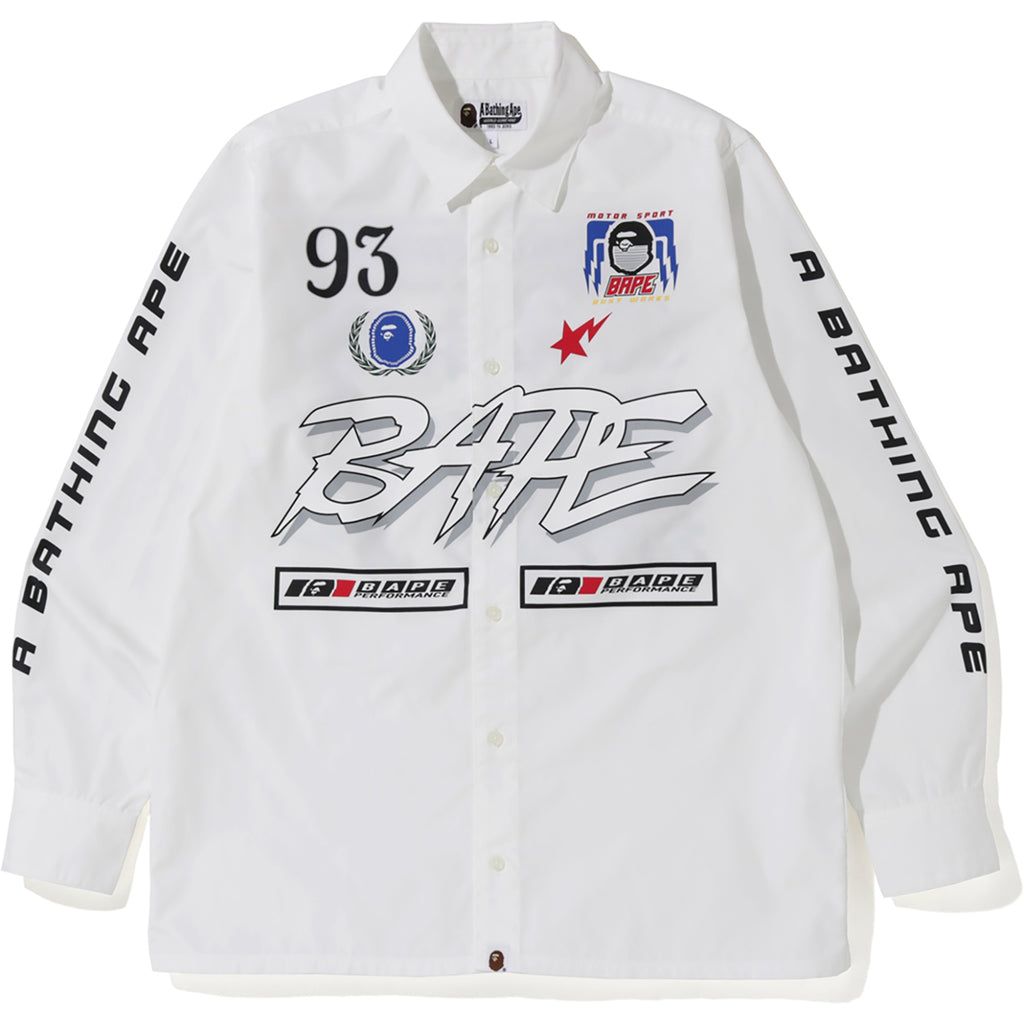 MOTOR SPORT WIDE SHIRT MENS