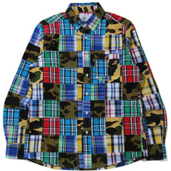 PATCHWORK BD SHIRT MENS