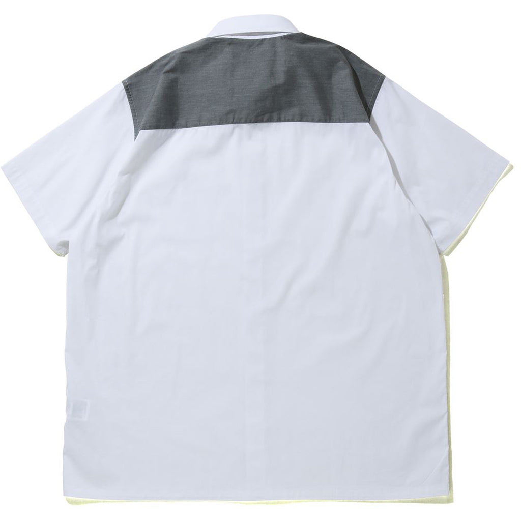 RELAXED STRETCH S/S SHIRT MENS