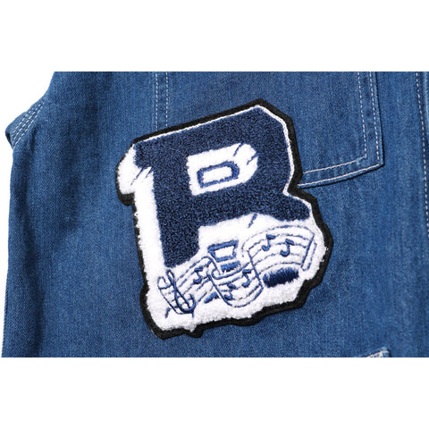 PATCHWORK DENIM COVERALL LADIES