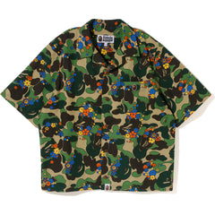 ABC CAMO FLOWER S/S SHIRT LADIES