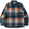 BAPE CHECK SHIRT MENS