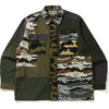 CRAZY CAMO RELAXED MILITARY SHIRT MENS
