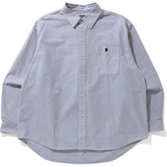 STRIPE ONE POINT LOOSE FIT SHIRT MENS