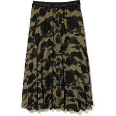 1ST CAMO PLEATED SKIRT LADIES