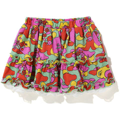 ABC CAMO FLOWER SKIRT KIDS