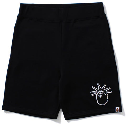 NYC EC APE HEAD SWEAT SHORTS M