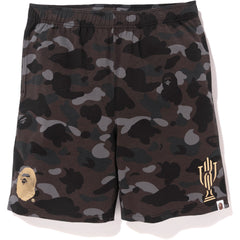 BAPE X TROPHY ROOM CAMO SHORTS MENS