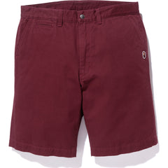 WIDE CHINO SHORTS MENS