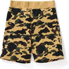 1ST CAMO SWEAT SHORTS MENS