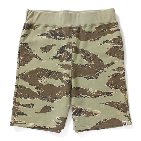 TIGER CAMO SWEAT SHORTS MENS
