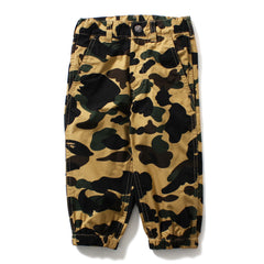 1ST CAMO CROPPED JOGGER PANTS KIDS