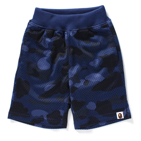 COLOR CAMO MESH SHORTS KIDS