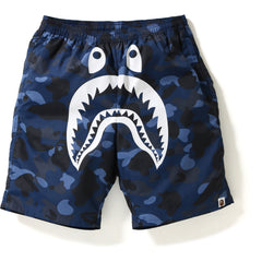 COLOR CAMO SHARK BEACH PANTS MENS