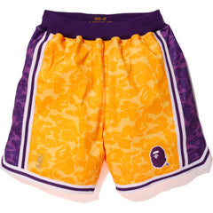 LAKERS ABC BASKETBALL JERSEY SHORTS M