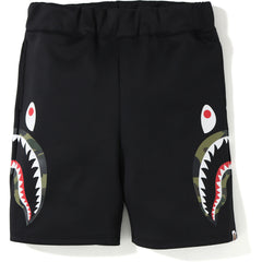 DOUBLE KNIT SIDE SHARK SHORTS MENS