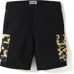 1ST CAMO 6POCKET SHORTS MENS