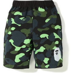 1ST CAMO NEON APE HEAD SWEAT SHORTS KIDS