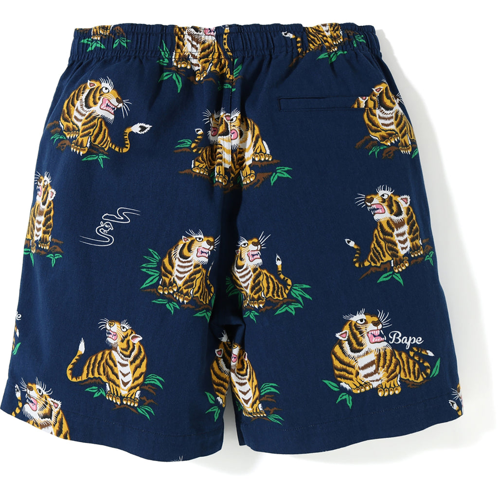 TIGER PATTERN SHORTS MENS
