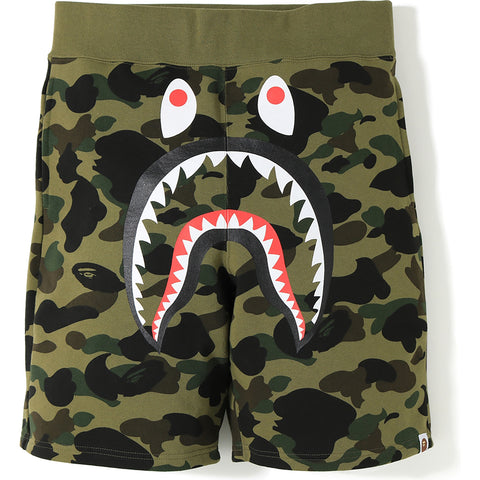 1ST CAMO SHARK SWEAT SHORTS MENS
