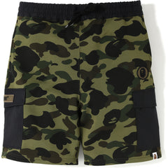 1ST CAMO SWEAT CARGO SHORTS MENS