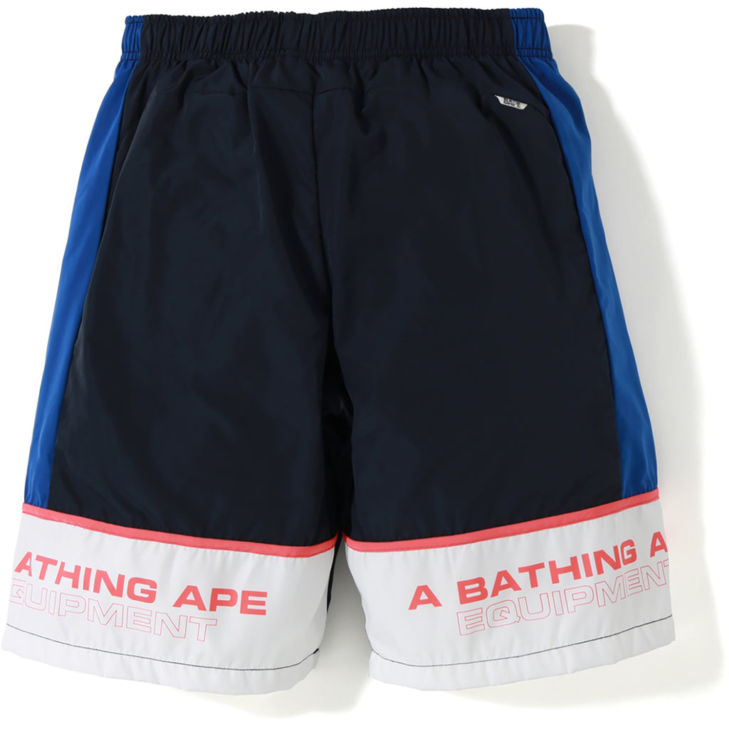 COLOR BLOCK TRACK SHORTS MENS