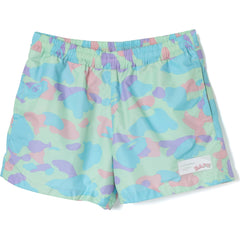 PASTEL MULTI CAMO SHORTS LADIES