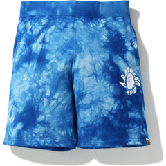 TIE DYE SWEAT SHORTS MENS