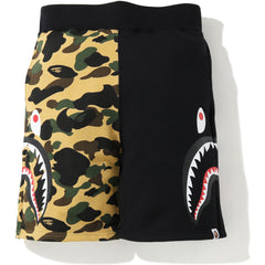 1ST CAMO SIDE SHARK SWEAT SHORTS MENS