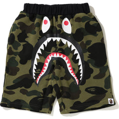 1ST CAMO SHARK SWEAT SHORTS KIDS
