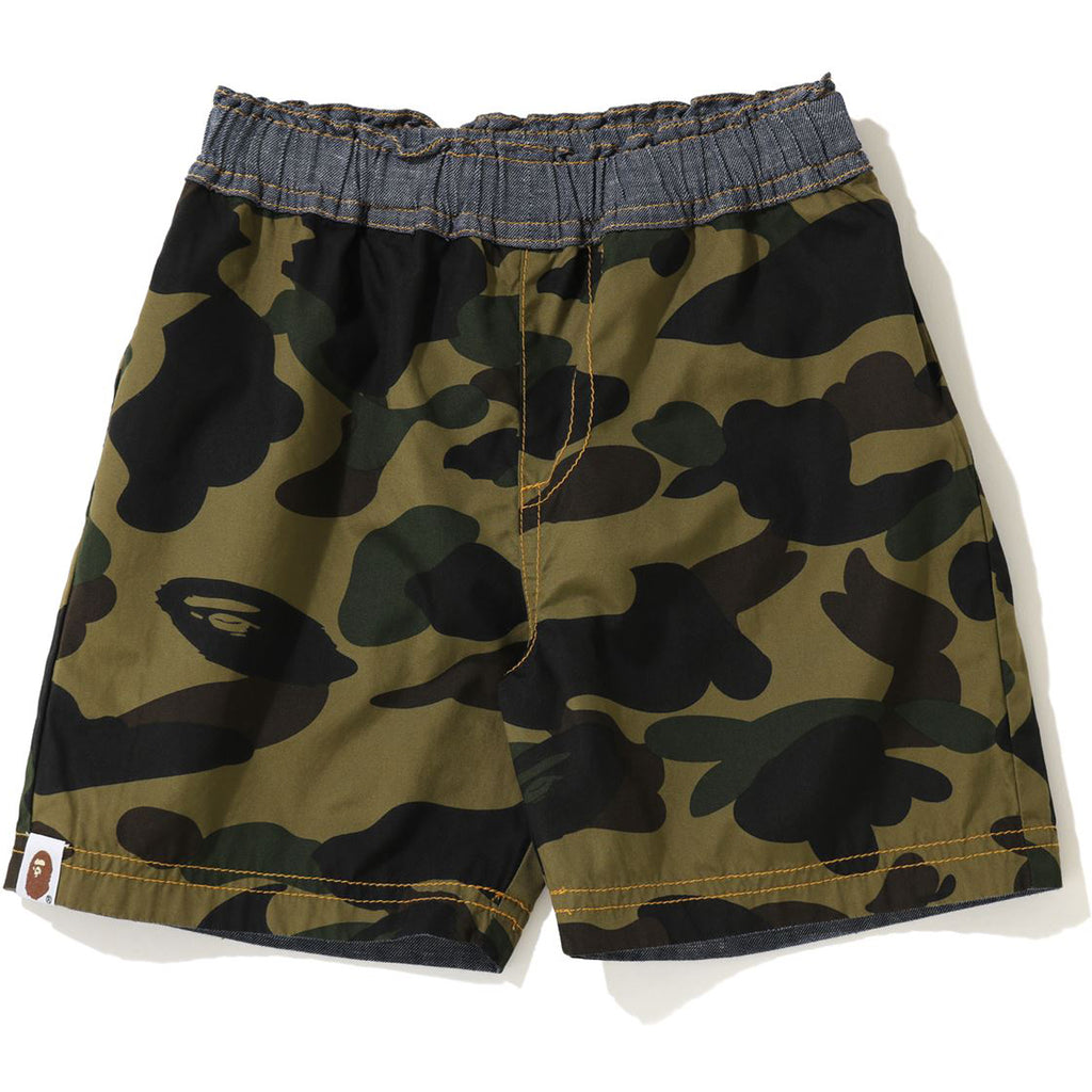 1ST CAMO REVERSIBLE SHORTS KIDS