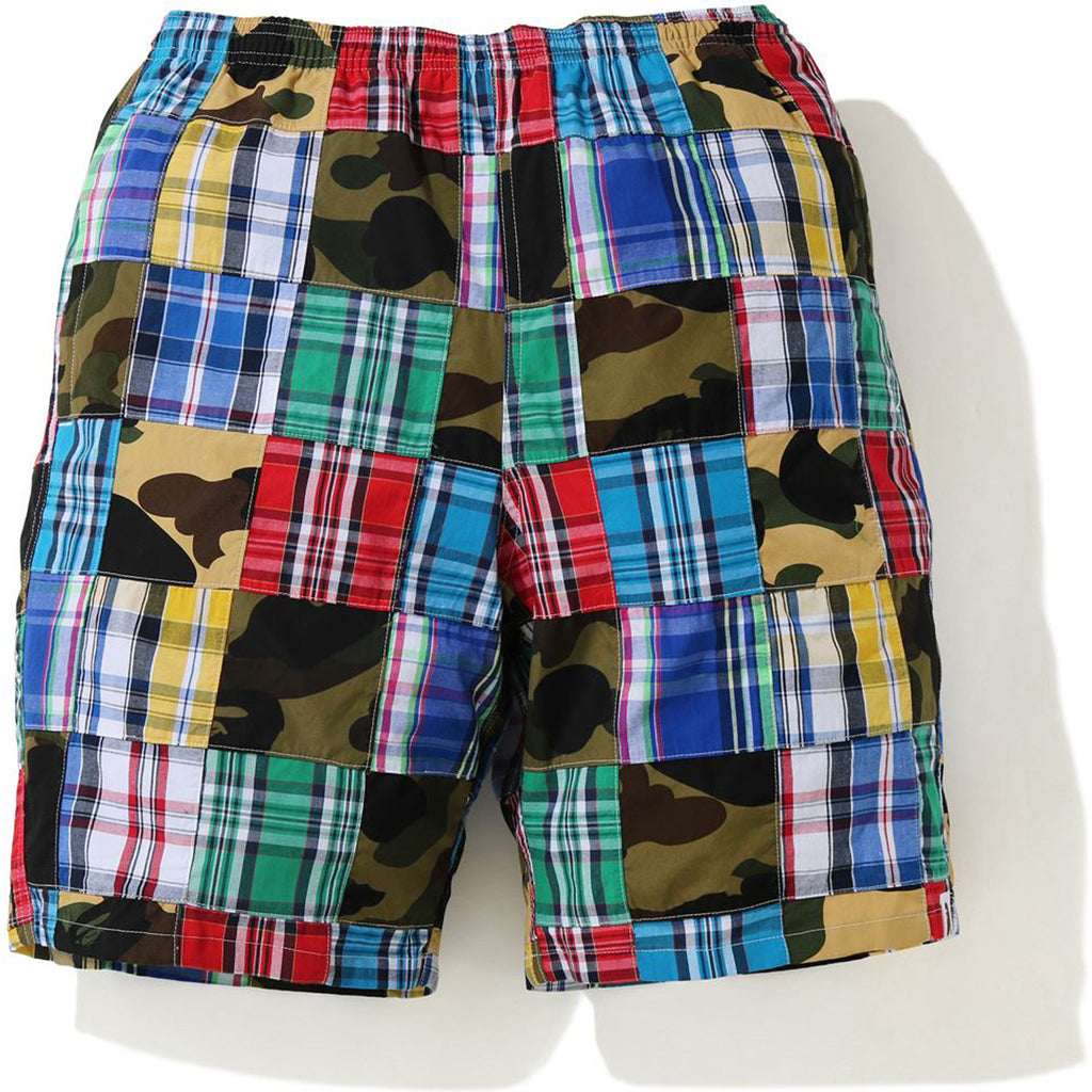PATCHWORK SHORTS MENS