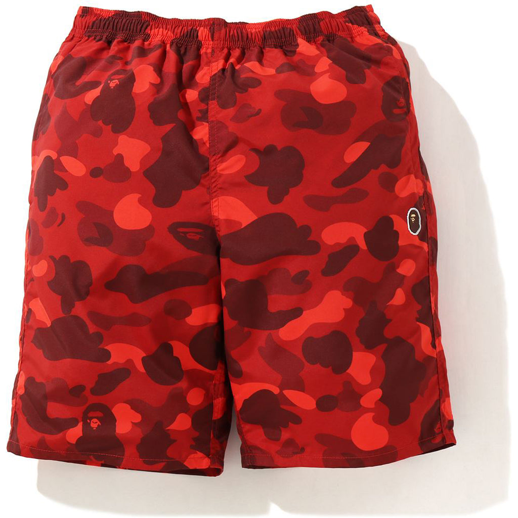 COLOR CAMO BEACH SHORTS MENS