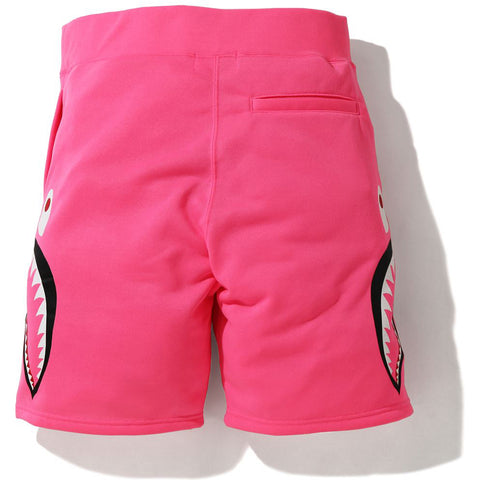 NEON SHARK SWEAT SHORTS MENS