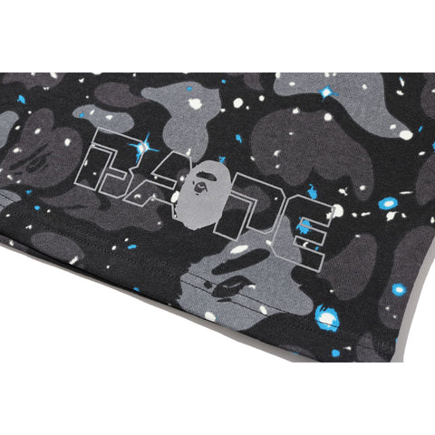 SPACE CAMO SWEAT WIDE SHORTS MENS