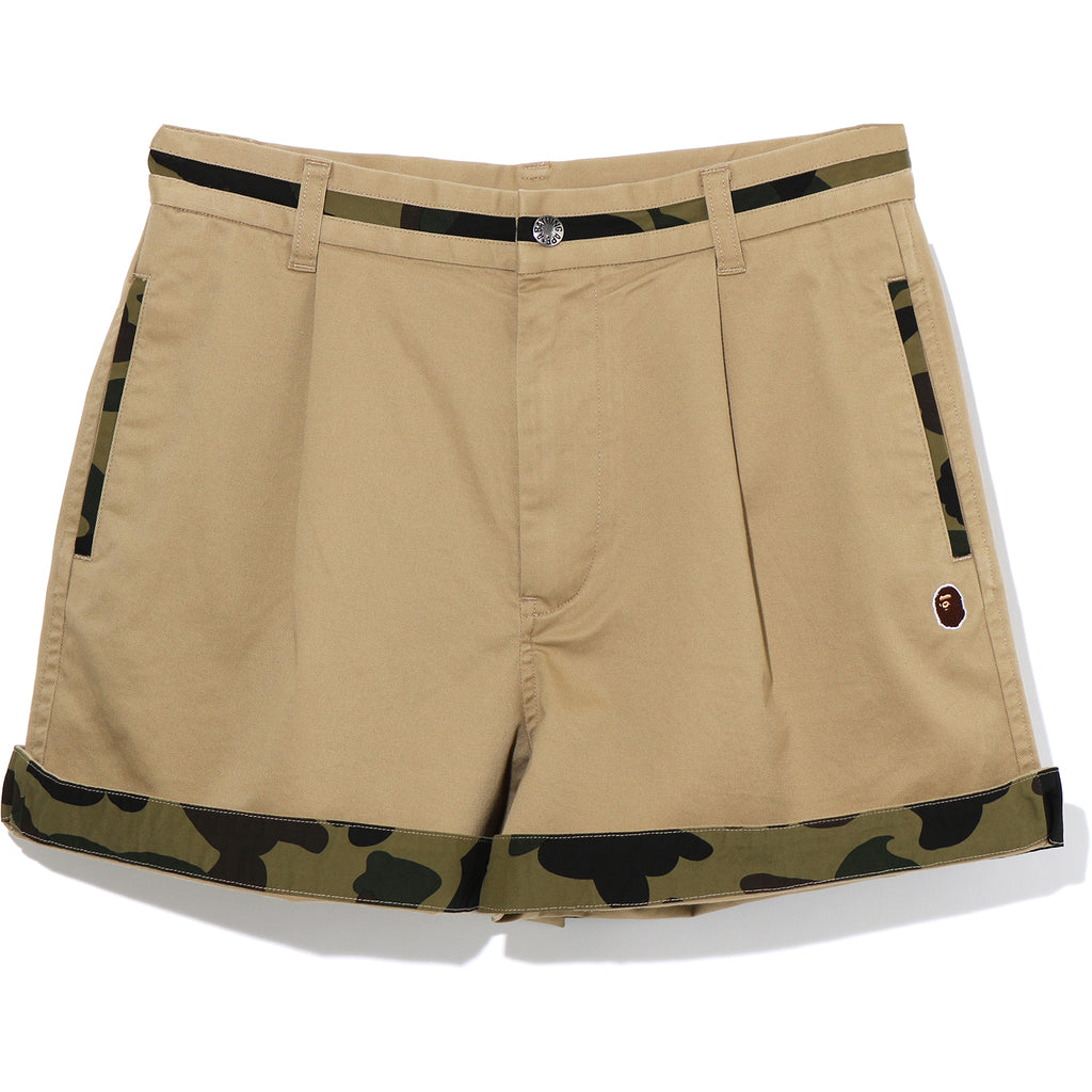 1ST CAMO CHINO SHORTS LADIES