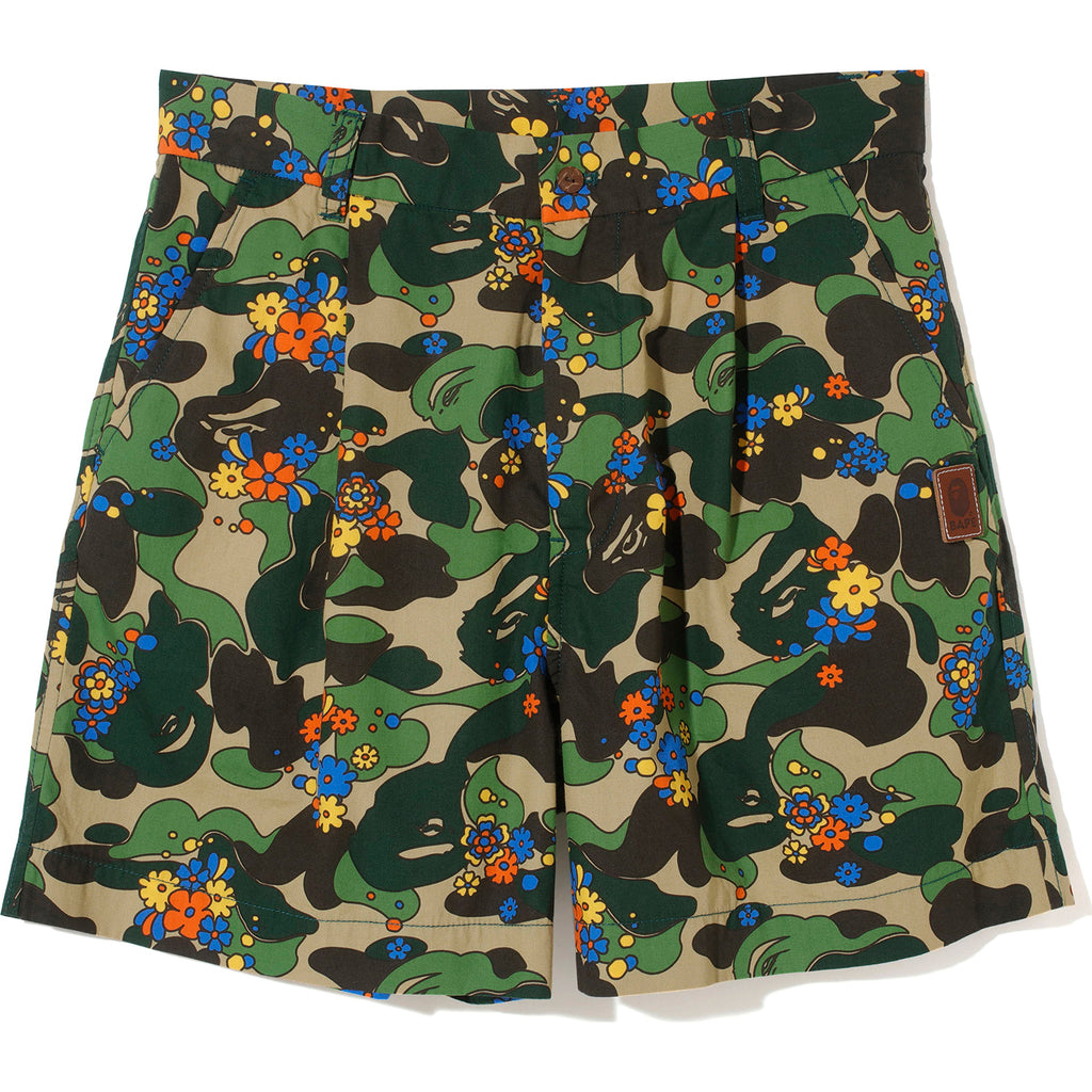 ABC CAMO FLOWER SHORTS LADIES