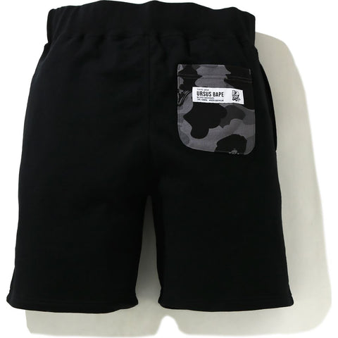 URSUS CAMO POCKET SWEAT SHORTS  MENS