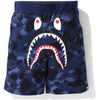 COLOR CAMO SHARK SWEAT SHORTS MENS