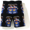BAPE INVASION SWEAT SHORTS MENS