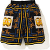 DOUBLE APE HEAD SWEAT SHORTS MENS