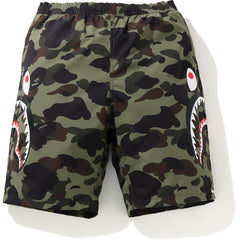 1ST CAMO SIDE SHARK BEACH SHORTS MENS