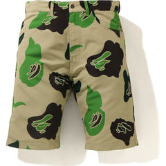 DEF CAMO WIDE SHORTS MENS