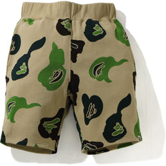 DEF CAMO WIDE SWEAT SHORTS MENS